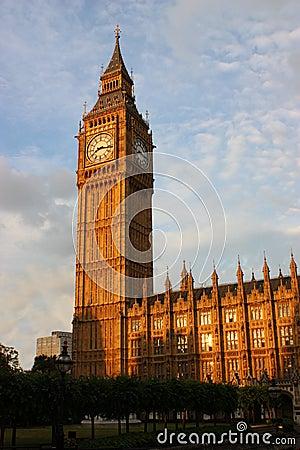 Free Big Ben In London Royalty Free Stock Photos - 11044618