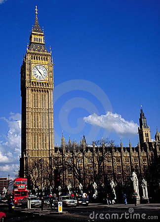 Free Big Ben In London Royalty Free Stock Photography - 704557