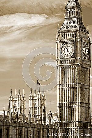 Big Ben, Londen, het UK.