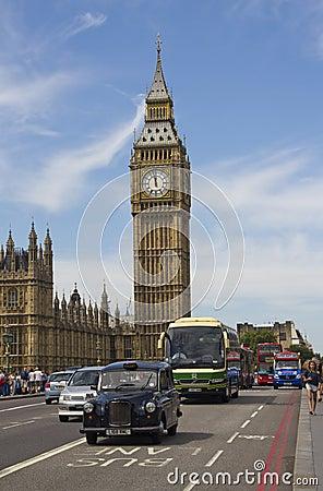 Big Ben in London Editorial Image