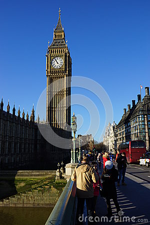 Big Ben London Editorial Photography