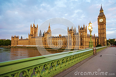 Big ben in london Editorial Stock Photo