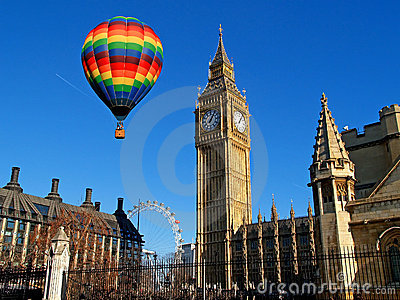The big ben in London Editorial Stock Photo