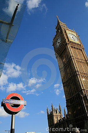 Big Ben in London Editorial Photography