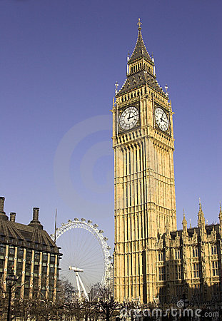 Big Ben, London, England Editorial Stock Image