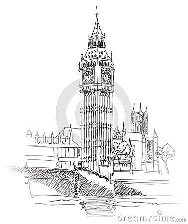 Free Big Ben, London, England, UK. Travel Europe Old-fashioned Background. Stock Photography - 36134242