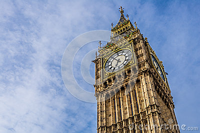 The Big Ben in London, England