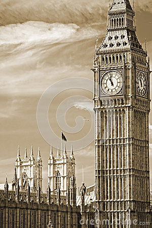 Big Ben, London, Großbritannien.