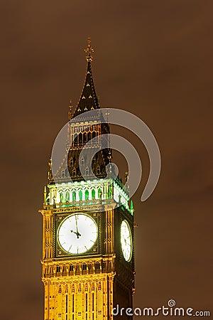 Big Ben, London - Night scene