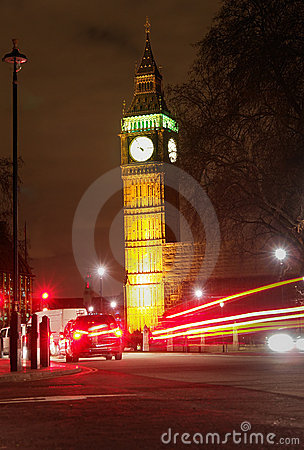 Big Ben, London - Night scene