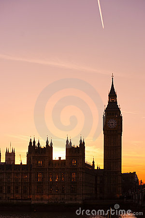 The Big Ben, London, UK. Stock Photography - Image: 19000052