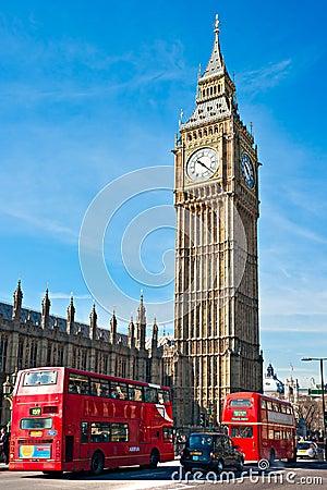 The Big Ben, London, UK Editorial Photography
