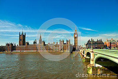 The Big Ben, London, UK. Editorial Stock Image