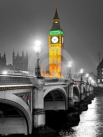 The Big Ben, London, UK.