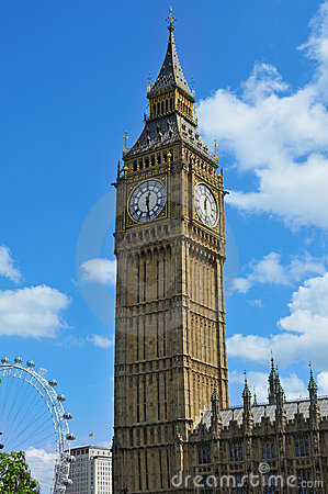Big Ben in London, United Kingdom Editorial Image