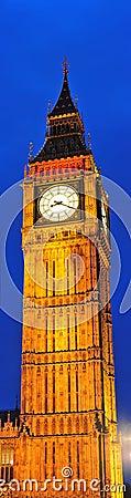 Big Ben - magic nights in London