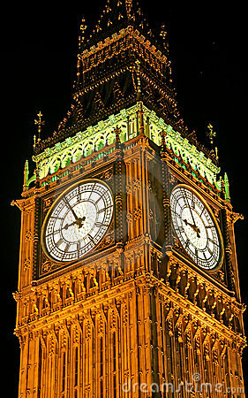 Big Ben at Night 1