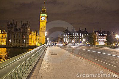 Big Ben by night, London