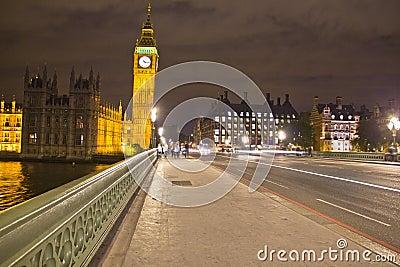 Big Ben by night, London