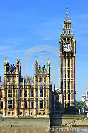 Big Ben & Parliament House - London, UK