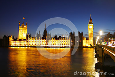 Big Ben and parliament in London