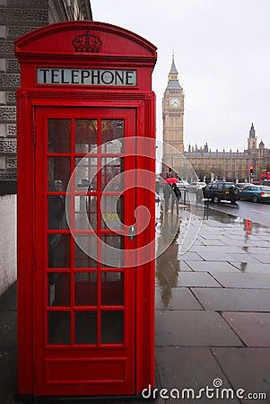 Big Ben Phone Box