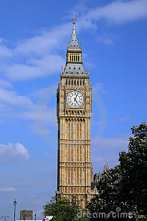 Big Ben portrait - London, England