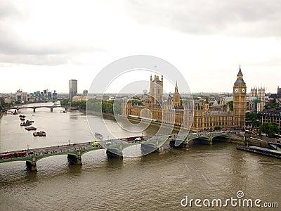 Big Ben and Thames River