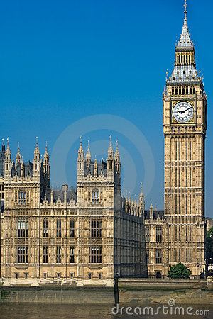 Big Ben Tower in Westminster