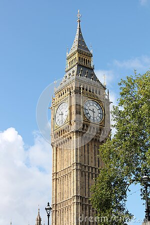 Big Ben Under Blue And White Sky During Daytime Free Public Domain Cc0 Image