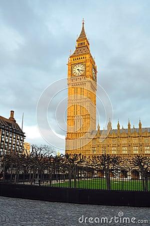Free Big Ben Under Evening Sun, London Stock Image - 23649111