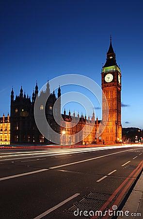 Big Ben from Westminster - London s landmarks