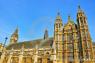 Big Ben and Westminster Palace, London