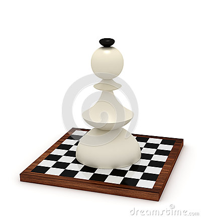 Big bishop on chessboard