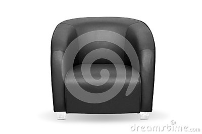 Big black chair