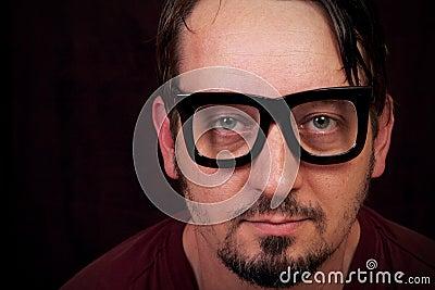 Big Black Glasses