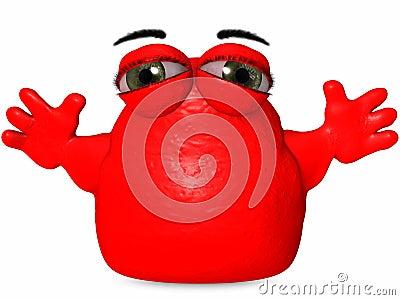 The Big Blob-Toon Figure
