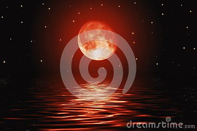 big red moon dream meaning - photo #10