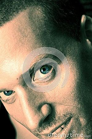 Free Big Blue Eyes Stock Image - 1166541