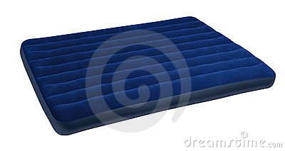 Big blue mattress