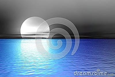 Big blue moon