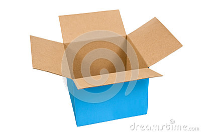 Big Blue Opened Box