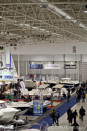 Big Blue Sea Expo, Rome 2011 Editorial Image