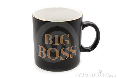 Big boss office mug