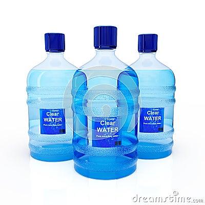 Big bottles of water