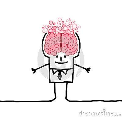 Big brain man & bubbles