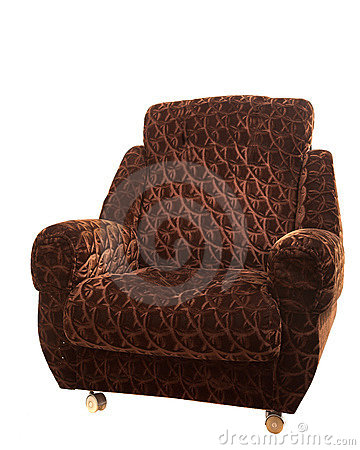 Free Big Brown Armchair Stock Images - 2603294