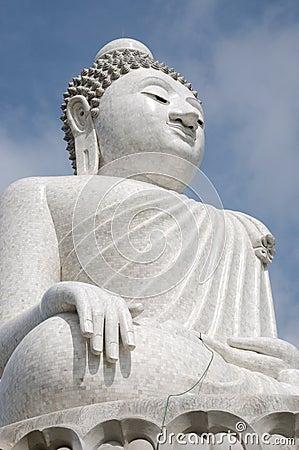 Big buddha image statue