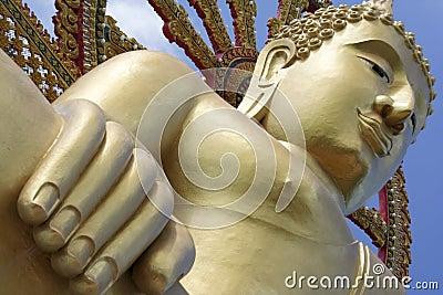 Big buddha statue koh samui thailand