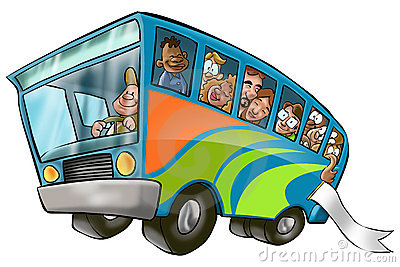 Big Bus Royalty Free Stock Images - Image: 2350479